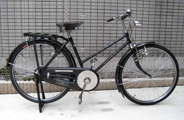 自転車の 実用自転車 販売 : 実用車のレストア(08/08/02)